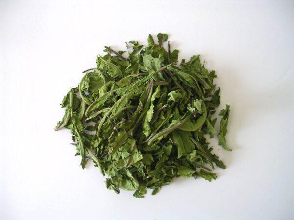Tisane en vrac de feuilles de pissenlit séché
